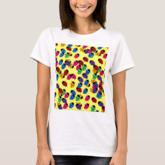 Cute Lady Bug Design T-Shirt