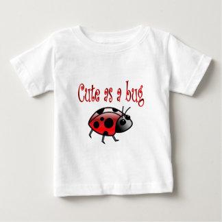 Cute Ladybug Baby T-Shirt