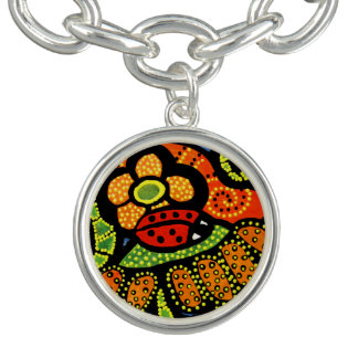 Cute  Ladybug Charm Wearable Art