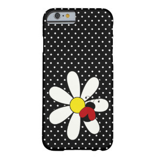Cute Ladybug Daisy iPhone 6 Case Barely There iPhone 6 Case