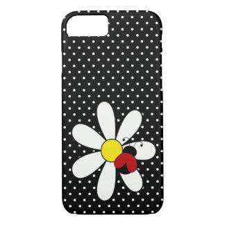 Cute Ladybug Daisy iPhone 7 Case