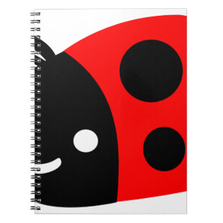 Cute ladybug notebook