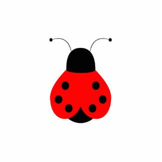Cute Ladybug Ornament Photo Sculpture Ornament