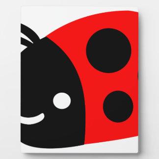Cute ladybug plaque