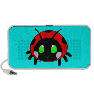 Cute ladybug PC speakers