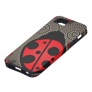 Cute Ladybugs iPhone 5 Case-Mate Tough