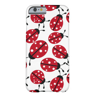 Cute Ladybugs Pattern Barely There iPhone 6 Case