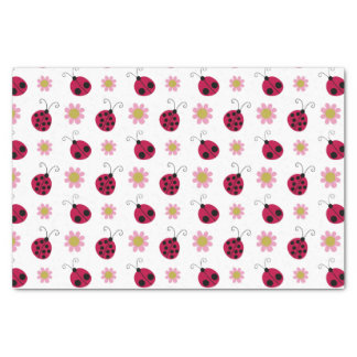 Cute Ladybugs Tissue Paper
