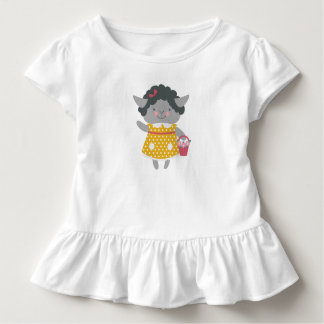 Cute Lamb Ruffle T-Shirt