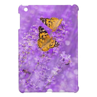 Cute Lavender Butterfly Nature Lovely Ipad Case