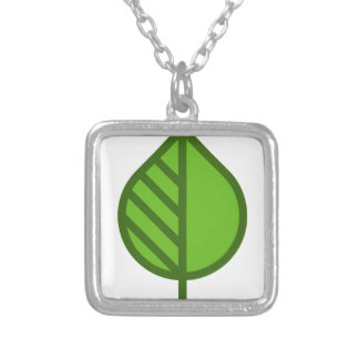 Cute Leaf Silver Plated Necklace