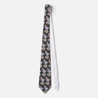 Cute Leapfrog Cartoon Rhinos Tie