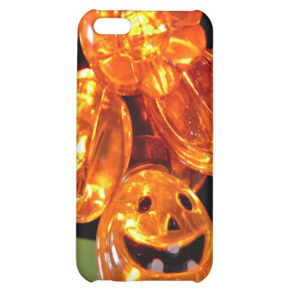 Cute LED Pumpkin lights iPhone 5C Cases