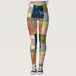Cute Leggings Yoga Pants Workout Pants BUTTERFLY