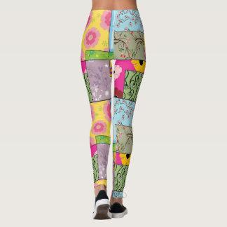 Cute Leggings Yoga Pants Workout Pants FLOWERS