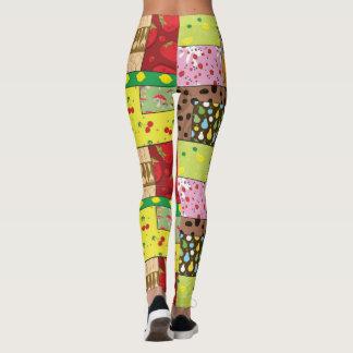 Cute Leggings Yoga Pants Workout Pants FOOD