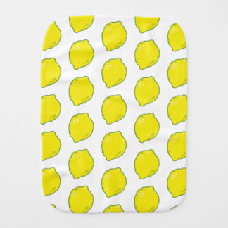 Cute Lemon Burp Cloth