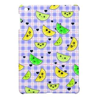 cute lemon lime design for teen girls cover for the iPad mini