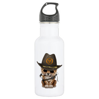 Cute Leopard Cub Zombie Hunter 532 Ml Water Bottle