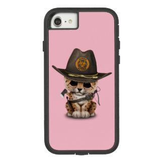 Cute Leopard Cub Zombie Hunter Case-Mate Tough Extreme iPhone 8/7 Case