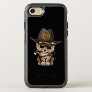 Cute Leopard Cub Zombie Hunter OtterBox Symmetry iPhone 8/7 Case