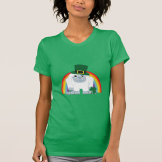 Cute Leprechaun Yeti T-Shirt