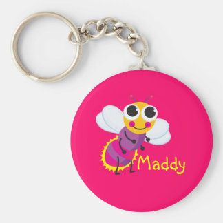 Cute Lightning Bug Keychain