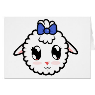 Cute Lil' Lamb Card