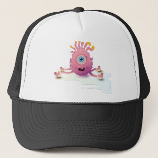 Cute Lil monster Trucker Hat