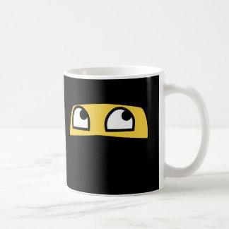 Cute lil' ninja emoji coffee mug