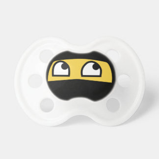 Cute Lil' Ninja emoji Pacifier