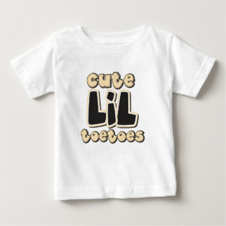 Cute LIL ToeToes Baby T-Shirt
