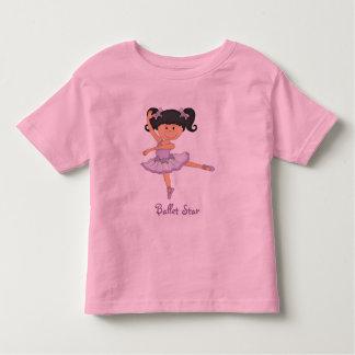 Cute lilac Ballerina 1 Ballet Star T-shirt