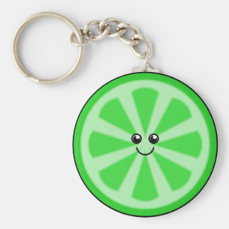 Cute Lime Keychain
