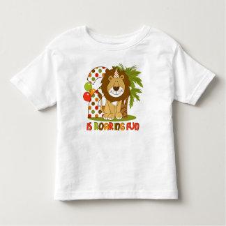 Cute Lion 2nd Birthday Toddler T-shirt