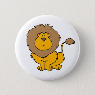 Cute Lion Button