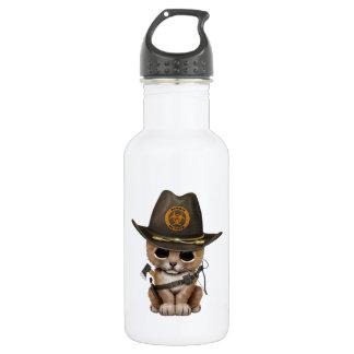 Cute Lion Cub Zombie Hunter 532 Ml Water Bottle