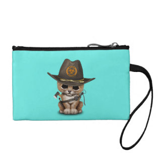 Cute Lion Cub Zombie Hunter Coin Purse
