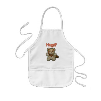 Cute Lion Hugs Kids Apron