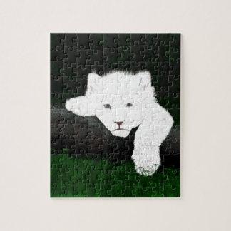 cute lion jigsaw puzzle