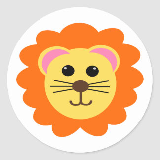 Cute Lion Stickers