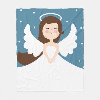 Cute Little Angel Fleece Blanket