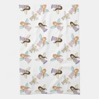 Cute Little Angels Kitchen Towel