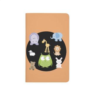 Cute Little Animals and butterflies Journal