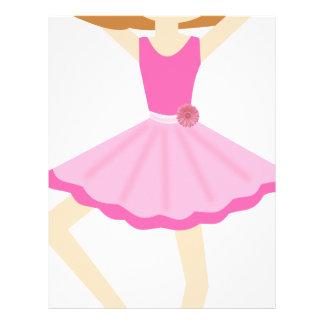 Ballerina Letterhead, Custom Ballerina Letterhead Templates