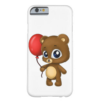 Cute Little Bear with a Red Balloon iPhone 6 Case