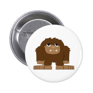 Cute little Bigfoot 2 Inch Round Button