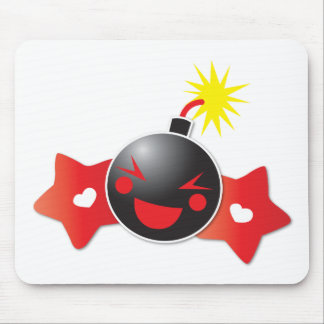 cute little boom! bomb mouse pad