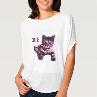 Cute Little Cat Kitten Kitty Pet T-Shirt