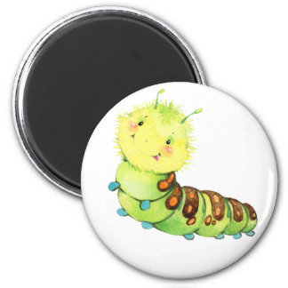 Cute little caterpillar magnet